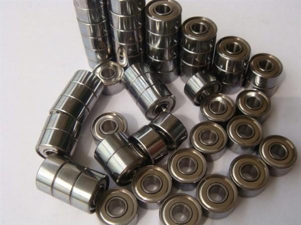 ABEC-7 Deep groove ball bearing 50 pcs 608ZZ 8X22X7 mm bearing steel 608 ZZ skating bearing(China (Mainland))