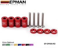 """Free shipping -(H Q) EPMAN  Racing 1"""" BILLET HOOD VENT SPACER RISER KITS FOR ALL TURBO / ENGINE/MOTOR SWAP 6MM EP-DP009-RD"""
