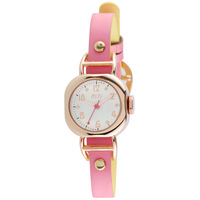 Mini Soft Waterproof Students Korean Fashion Female Form Double Color Strap - Pink