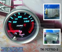 Free shipping  -( H Q ) 7 COLOR Oil temp GAUGE TK-7C7703-2