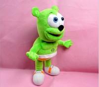 New Stuffed &Plush 12 inch Gummy bear Singing I AM A GUMMY BEAR music teddy bear soft doll Gummibar brinquedos plush baby toy