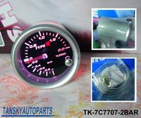 Free shipping  -(H Q ) 7 COLOR BOOST GAUGE BAR TK-7C7707-2BAR