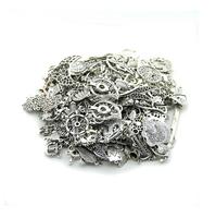 100g (50~80pcs)Charm Random Mix Styles (Silver,Gold,Bronze) Zinc Alloy DIY Jewelry Accessories Charms Pendant