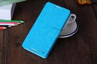 Luxury Soft Touch Real Sheep Leather For Lenovo A830 Leather Flip Case Cell Phone Case For Lenovo A830 Case Cover with Stand