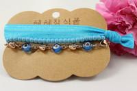 Wholesale 2015  New design hot selling bracelet sets,eyes and lace bracelet,forever blue necklace set, BG010,can mix desige