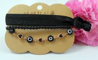 Wholesale 2015  New design hot selling bracelet sets,eyes and lace bracelet,forever blue necklace set, BG011,can mix desige