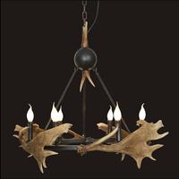Free shiping pendant light lamp dedicated antler antler chandelier with 6 lights  110-220V