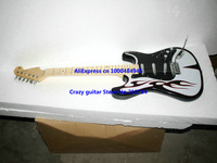 Wholesale - High Quality Newest Black Electric Guitar Custom Guitar Free shipping