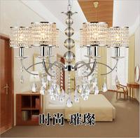 Fashion luxury high-grade crystal chandelier chandelier room hotel LED lamp suitable for voltage 90-260V