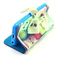 2015 multi owls cute design flip leather wallet stand case for iPhone 5c with card holder 10pcs/lot