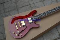 New Beautiful Custom22 25th Anniversary Modern Eagle semi hollow  electric guitar 6 string Red