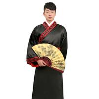 Black male hanfu costume male costumes