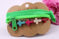 Wholesale 2015  New design hot selling bracelet sets,cross and lace bracelet,forever blue necklace set, BG013,can mix desige