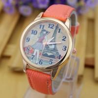 Luxury Brand N Lee Watches Fashion Quartz Watch Famous Women Casual Watch Rose Gold PU Strap Watch Ladies Dressing Wristwatches