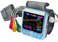 2.4LCD screen wrist blood pressure monitor Sphygmomanometer oxygen finger pulse respiratory health NIBP SPO2 heart rate monitor