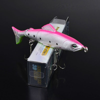 """2015 Top fishing bait 1color  Fishing Lures Design 5""""-12.7cm/17.58g-0.62oz fishing tackle 2# hook Retail box package"""