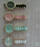 Top Quality Newest Fashion Brand Women Lady Alloy Geneva Floral Flower Print Dress Watches Japan Quartz Movt Watch Wristwatches