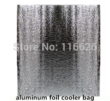10pcs/lot 8L/13L pocket food taking away aluminum foil foam cooler bag thermal storage ice bag in bag(China (Mainland))