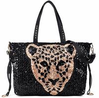 2015 women's handbag paillette vintage bag one shoulder cross-body portable women's personality handbag