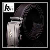 Men's leather belt automatic buckle brand high-grade commercial leisure belt belt R259
