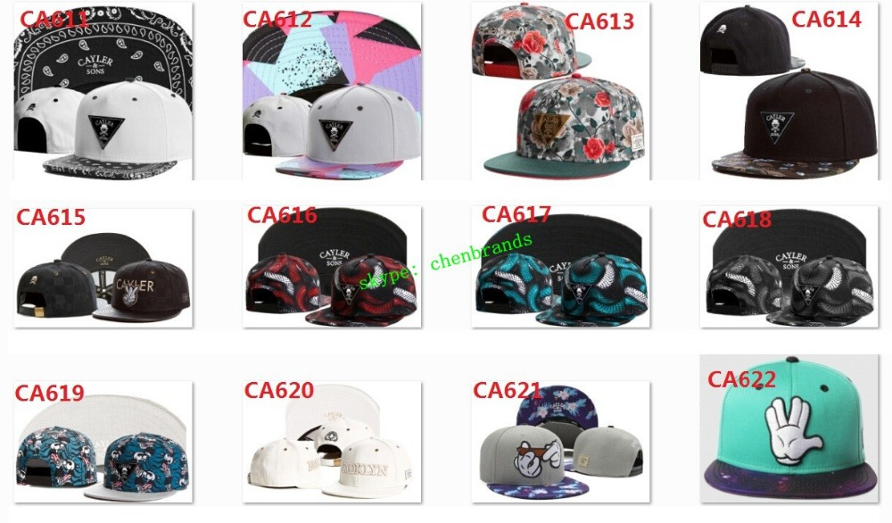 2014 Brand New Cayler son Snap back Caps Hats Finger Snapback Baseball Caps For Men and Woman Retail & Wholesale(China (Mainland))
