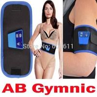 Electronic Muscle Toner AB Gymnic abgymnic Gymnastic Body Waist Leg Arm Massage Belt Sculpts Firms Tones Muscles slimming Belt