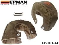 Free shipping -(H Q) EPMAN RACING- Universal Titanium T4 Turbo Heat Shield Blanket Performance Race Drag Rally Cars EP-TBT-T4