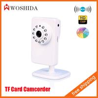 Woshida Network IP Camera 720P 1.0MP HD WIFI IR Indoor CCTV Security Monitor Camera