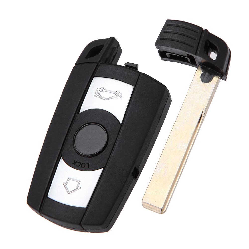 Cheap Folding Car Remote Flip Key Shell Case Fob 3 Button Smart Key Fob Case Cover for BMW 1 3 5 6 7 E90 E93 E92 M3 M5 X3 X5(China (Mainland))