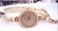 2013 new style famous brand women rhinestone watches dress ladies watch bracelets chain watch vintage wristwatch luxury quartz