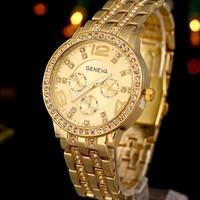 Brand New Gold Watch, Quartz Watch, Watches Men