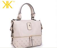 2015 fashion new women kk Clutch, kardashian kollection handbags handbag shoulder bag Messenger bag zipper bag rivet package.