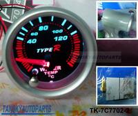 Free shipping -( H Q ) 7 COLOR WATER TEMP GAUGE TK-7C7702-2