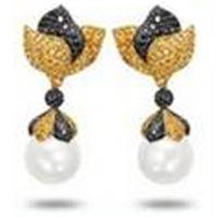 Derongems_Fine Jewelry_Luxury Flower Brand Party Earrings_S925 Solid Silver Ball Luxury Woman Earrings_Factory Directly Sales