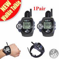 FS! 2pcs/ Pair Digital Wrist Watch Freetalker RD-820 Walkie Talkie Ham Radio Interphone 2-Way Radio With VOX Operation