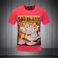 "Fashion Brand New Arrival 2015 Summer ""Legendary Billionaires""T-Shirts Tops Slim Fit Sport Shirt Quick Dry men T-shirt  PP1505"