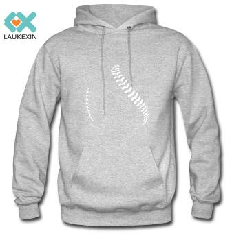 Men's Hoodies Baseball And Softball Seams Hooded Sweatshirt Print Ball Gym Pullover Custom Designs Fleeced Outerwear Sizes S-3XL(China (Mainland))