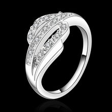 LKNSPCR532 Free shipping 925 sterling silver Stone Ring 925 sterling silver jewelry wholesale fashion jewelry 925