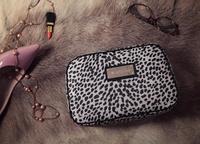 AC626 trendy fashion woman large size sexy leopard dots zipper Cosmetic MakeUp Organizer Storage Bag