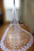 2015 Bridal Veil The Bride Bridesmaids Veil A Layer Applique Lace High Quality Elegant And Stylish Wedding Dress Accessories