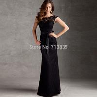 Vestido Longo Natural Hot Sale De Renda Women Spring Summer Dress Fashion Lace Evening New 2015 Skirt Banquet Formal Long Design