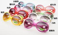 Round Pattern child sunglasses wholesale 24pcs/lot free shipping