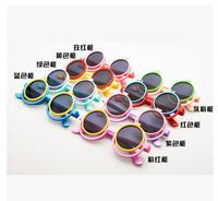2015 new Flip-open cover children sunglasses 24pcs/lot free shipping