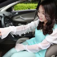Long car sunshade Gloves Lace Gloves thin summer women's gloves ride tee UV sunscreen