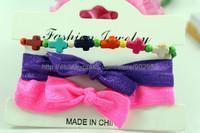 Wholesale 2015  New design  bracelet,hot selling bracelet sets,3pcs ace together,forever blue necklace set, BG007,can mix desige