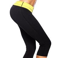 free ship women Stretch Neoprene Slimming Pants Body Shaper Slimming pant waist training corsets Plus Size body corset bodysuit