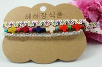 Wholesale 2015  New design hot selling bracelet sets,cross and lace bracelet,forever blue necklace set, BG012,can mix desige