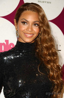Beyonce side part medium brown  loose wavy lace front human hair wig