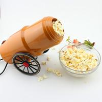 Free shipping home make Diy Mini Shape Nostalgic Hot Air Popcorn Machine Poper Pop Corn Maker Popcorn Popper