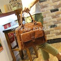 PU leather mens bags handbags of korean japanese harajuku designer brand,vintage casual shoulder-bags tactical travel laptop bag